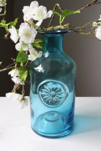 Blue Bottle Vase
