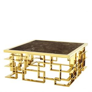 coffeetable-gold plated