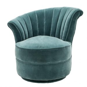 lounge-chair-bluaw-fluweel-blue-velvet